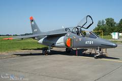 ALPHAJET 1B  AT21 (charlie delta airshow passion) Tags: red 21 air iii devils airshow xingu alouette base nh90 alphajet marchetti 2013 beauvechain juiller rn05