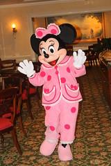 Minnie says good-night to us!