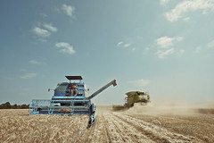 Braud 800 (Alex B - AgriProPhotos) Tags: tractor john farming harvest case combine agriculture t ferguson deere harvester massey moisson orge paysan claas lexion braud