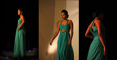 Catwalk !!! (prithivi2686) Tags: blue color sexy girl fashion night costume stage catwalk pondicherry auroville