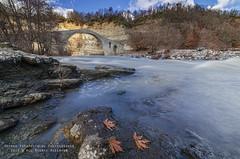Stone Bridge Aziz Aga (george papapostolou) Tags: travel mountains nature river landscape nikon greece macedonia stonebridge grevena azizaga nikond7000 georgepapapostolou