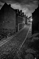 Dream Homes (jrobfoto.com) Tags: vacation england bw raw sony cobblestone whitby fullframe twitter balcandwhite gplus 500px a7r tumblr