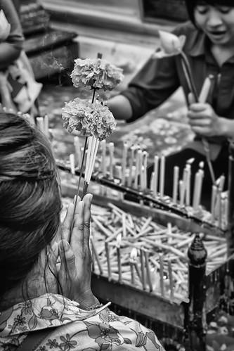 Prayer in Thailand