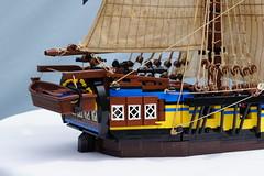Pinnacle (Mr. Townsend) Tags: sailing ship lego cannon sail brig
