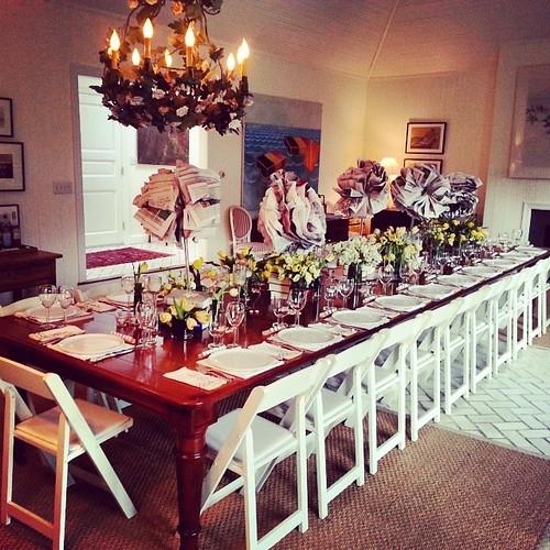 #Hamptons #birthday #dinner #allaboutdetails