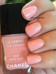 Chanel Beige Rose (purple yellow) Tags: rose beige nail polish chanel 655