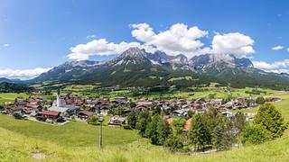 Ellmau, Tirol (Panorama)