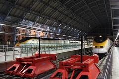 3012 3010 (matty10120) Tags: 373012 373010 eurostar train old photo taken at london st pancras international withdrawal rail railway class 373