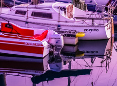 Sean Connery (Walimai.photo) Tags: boat barco barca red october octubre rojo sean connery getxo bizkaia vizcaya spain españa euskadi país vasco lumix lx5 panasonic