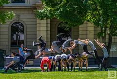 9 Frames (Joel Bramley) Tags: gymnastics people flip flipping bendigo