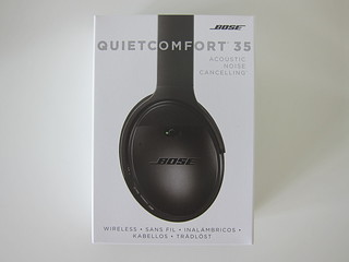 Bose QuietComfort 35 Acoustic Noise Cancelling Wireless Headphones