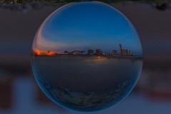 Skyline Vlissingen (Rudy vos) Tags: vlissingen sunset glazenbol glassball skyline beach netherlands nederland canon
