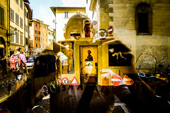 L1170554 (Bruno Meyer Photography) Tags: firenze toscana italia italy streetphotography streetart streets inside out reflection colors imagine leica leicaimages leicacamera leicadlux5 leicaworld photography raw edit archives 2014 roadtrip summer travel discover travelphotography iloveitalia