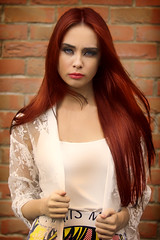 redhead orla (BarryKelly) Tags: red head hair pose natural light
