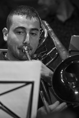 JTS_2113 WTF WTF Big Band bw (Thundershead) Tags: wtf whatthefuck whatthefuckjamsessions jamsession jamboree barcelona jazz music musica musico musician directo live directe concert concierto