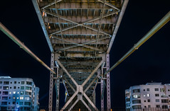 western most west span (pbo31) Tags: sanfrancisco california color nikon d810 city february winter 2017 boury pbo31 night baybridge 80 bridge southbeach financialdistrictsouth infinity black rinconhill westernspan support beale bealestreet deco under apartment silver steel belly