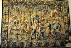 Munich (Alemania). Residenz. Antecámara Norte. Tapiz de la serie de Saul, 1550. Frans Geubel (santi abella) Tags: munich münchen baviera bayern alemania germany palacioresidenzdemunich tapices