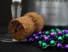 Happy 10 Years - Macro Mondays (Explore 3/20/17) (lcams) Tags: macromondays happy10years cork bottle champagne celebrate beads bubbly