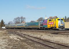 Via 904, Via 72 Brantford Ontario (Joseph Bishop) Tags: via 904 ge p42 canada150 cndundassubdivision brantford trains train track tracks railfan railroad railway rail rails
