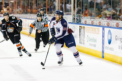 "Missouri Mavericks vs. Tulsa Oilers, March 5, 2017, Silverstein Eye Centers Arena, Independence, Missouri.  Photo: John Howe / Howe Creative Photography • <a style=""font-size:0.8em;"" href=""http://www.flickr.com/photos/134016632@N02/33273250046/"" target=""_blank"">View on Flickr</a>"