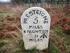 Cut Mark: Bowdler Farm, Milestone, Knighton 1½ a (Dugswell2) Tags: cutmark milestone bowdlerfarm knighton1½