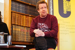 Kevin Barry - Cambridge 2016 (Chris Boland) Tags: kevinbarry portrait creativecommons