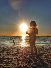 Winter... (judithtrillo) Tags: sunset childhood samil atardeceres playaeninvierno beach colorful pekeñafierecilla mipekeña littlelady joinlife galifornia galicia