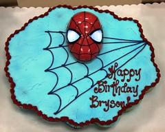 Bryson's 5th Birthday (vanherdehaage) Tags: birthday party chuckecheeses cake cupcake spiderman