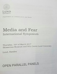 Convegno Media and Fear