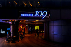 SIBUYA 109 (Dakiny) Tags: 2017 spring march japan night tokyo shibuya dogenzaka city street shibuya109 109 people landscapenikon d7000 sigma 1770mm f284 dc macro os hsm sigma1770mmf284dcmacrooshsm nikonclubit