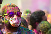 Holi Festival of Color #11 (Robert Borden) Tags: mask holi color glasses dusty festivalofcolors portrait elmonte people person la man cali canon cool west losangeles usa socal southerncalifornia california canonrebel canonphotos northamerica