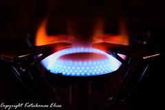 Burn (Kotsikonas Elias) Tags: burn fire nikon d3300 red blue dof bokeh flame