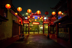 Chinatown (avilon_music) Tags: la chinatown losangeles ginglingway neon vintageneonsigns markpeacockphotography streetscenes lafilmlocations 1938 neonlights nightshots redlanterns route66 downtownla historiclosangeles 1930s