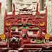 Particolare del tempio maya