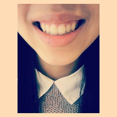 Vi Le (daisyjeanrenaud) Tags: china cute beautiful smile smart fashion asian happy perfect vietnamese braces sweet sassy teeth chinese knit preppy dental vietnam chic posh simple dentist prep dentures flickrandroidapp:filter=none