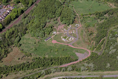 Redlees Urban Park - Aerial View (CommunityLinkssl) Tags: charity scotland photo glasgow volunteers aerialview volunteering lanarkshire blantyre southlanarkshire thirdsector communitylinks redlees redleesurbanpark commlinkssl