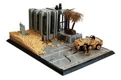 Deception (✠Andreas) Tags: lego military apc thepurge legodiorama legoapoc desertapoc thepurgeusa apocdiorama