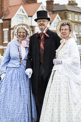DA12423 (Destinys Agent) Tags: beach up festival costume seaside dress victorian charles dickens broadstairs dickensian