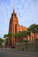The Cathedral of St John the Baptist (StGrundy) Tags: usa history church st architecture buildings john catholic unitedstates cathedral southcarolina landmark architectural historic charleston baptist historical stjohnthebaptist