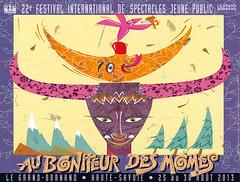 Affiche Festival Au Bonheur des Mômes - 2013
