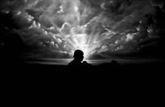 Book of Mormon (forayinto35mm) Tags: blackandwhite man london film clouds 35mm iso3200 50mm theatre sony grain highcontrast ilfordhp5 hp5 pushed ilford minoltadynax5 hp53200 microphen ilfordhp5pushedto3200 forayinto35mm chrismarchantportfolio chrismarchantdecemberportfolio