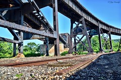 Train Track Bridge - 33rd Street - Pittsburgh, PA (JayCass84) Tags: camera bridge sky urban beautiful photography photo flickr industrial pittsburgh pennsylvania steel awesome traintracks bridges pitt traintrack flick pgh clearsky urbanstreetphotography railtracks skyshots urbanphotography 412 railtrack burgh clearskies skyshot steelcity instagram instagramapp