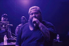 Action Bronson and Meyhem Lauren - Live au Trabendo (Coupdoreille.fr) Tags: music paris lauren flow concert action live beat hip hop bronson trabendo meyhem