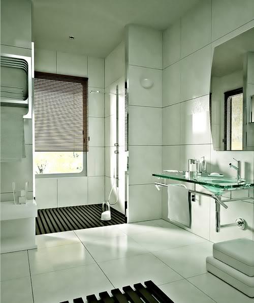 Fotos de Banheiros Decorados  Sofotosorg -> Banheiros Sociais Modernos