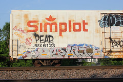 ZEPHYR (The Braindead) Tags: art minnesota train bench photography graffiti painted tracks minneapolis rail explore beyond the