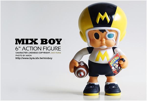 【開箱報告】MIX BOY達陣男孩6吋可動公仔推薦!