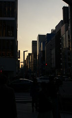 Streets of Ginza (Hayden Watkins) Tags: streets japan tokyo ginza dusk sony 350 alpha a350