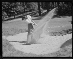 Golf (Boston Public Library) Tags: golf golfers lesliejones sandtraps