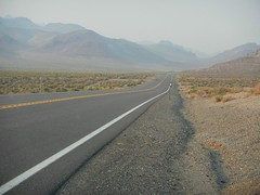 (cr8visions - Robert Boisson) Tags: landscape highway desert nevada burningman desertroad pyramidlake emptylandscape deserthighway