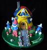 smurfs house cake (Mrs P's Patisserie) Tags: birthday house cake smurfs